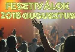 12+1 nagyszabású fesztivál augusztusban, amiről tudnod kell