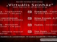 """Bartók Kamaraszínház """"Virtuális Színház"""" előadása: Rák Jóska"""