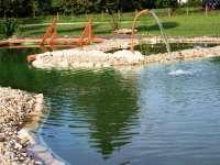 Aranykert fürdőtó - Vének