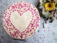 Valentin napi torta a GyorsanSütitől