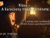 Életrevalók a mese világában online évadnyító – Klaus – A karácsony titkos története