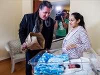 Újévi baba - Megkapta az Operaház idei útravaló lemezét az első újszülött
