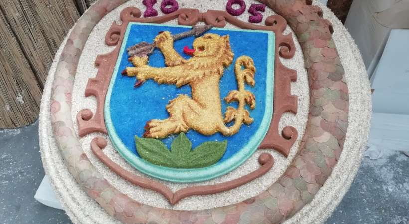 Címer virágból